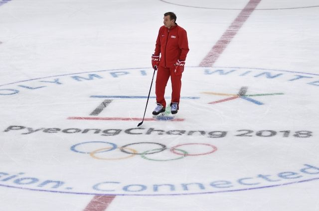 Знарок взял на себя ответственность за поражение российских хоккеистов