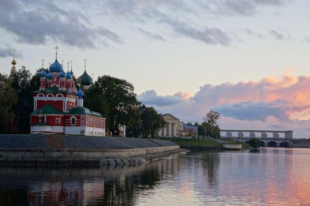 Углич стал частью «Золотого кольца России»