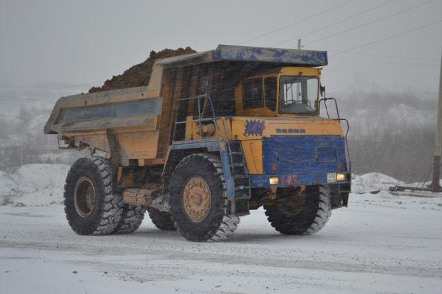 На одном из кузбасских разрезов разбился БелАЗ.