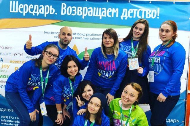 Волонтеры реабилитационного центра