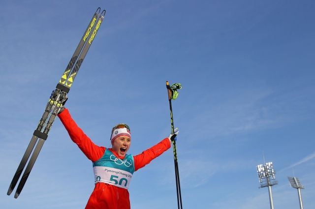 Норвежская лыжница выиграла 12-ю олимпийскую медаль