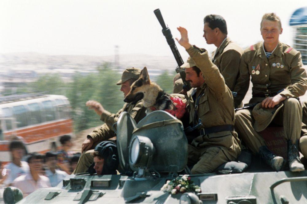 15 мая 1988 года. Начался поэтапный вывод ограниченного военного контингента советских войск из Афганистана.