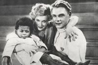 Кадр из фильма «Цирк» (1936) с Джеймсом Паттерсоном.