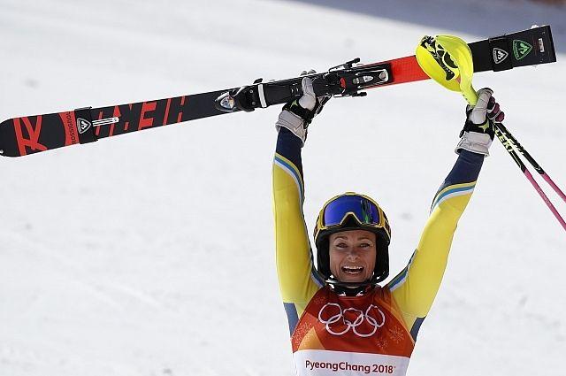 Олимпиада-2018. Горные лыжи. Мария Григорова финишировала 51-й вслаломе