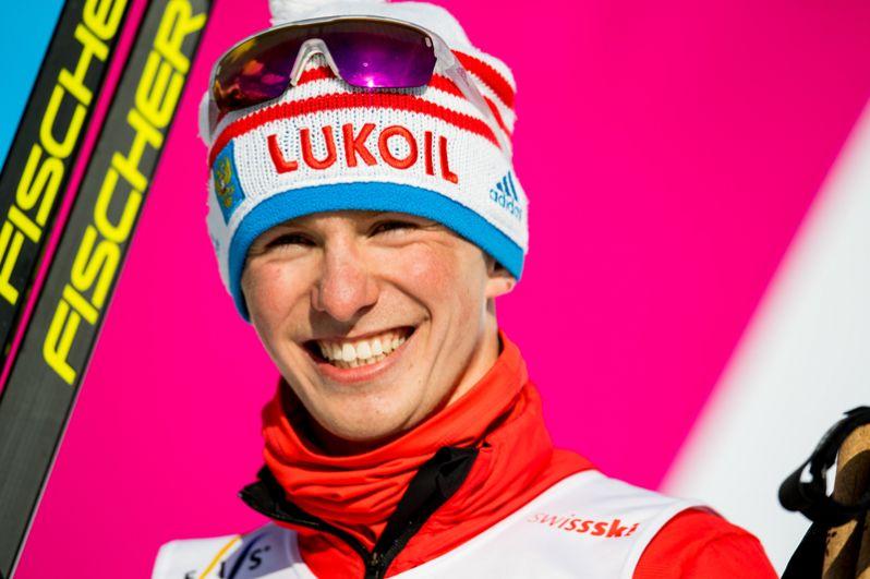 Лыжник  Денис Спицов занял третье место в индивидуальной гонке на 15 км свободным стилем.