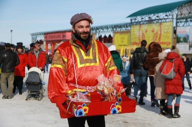 Фестиваль «Сибирская Масленица» в селе Новотырышкино