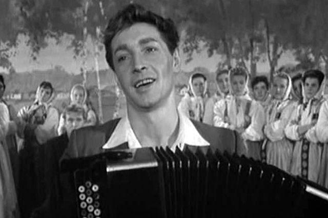 Вячеслав Тихонов в фильме «Дело было в Пенькове», 1958 год