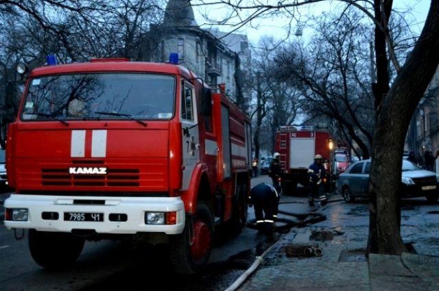 НаХТЗ горел гаражный кооператив— Есть пострадавшие