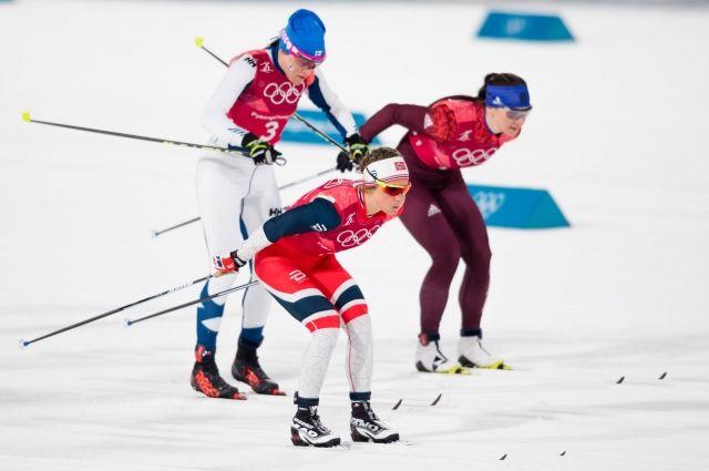 На первом этапе россиянке даже лидировали.