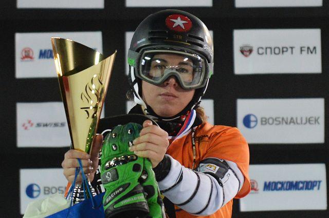 Что за сноубордистка, победившая на Олимпиаде в горных лыжах?