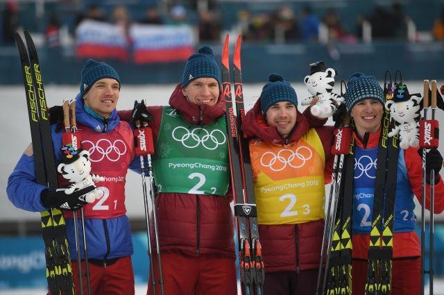 Вяльбе поблагодарила лыжников за еще одну медаль