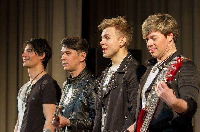 Выступление группы в г. Лесосибирске.