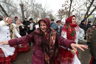 В Ростовской области отметили Масленицу.