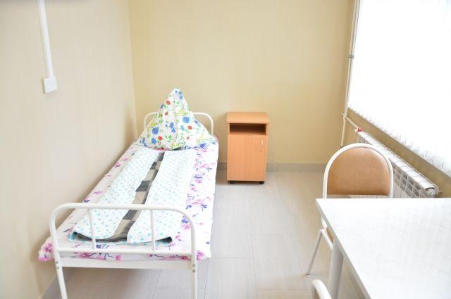 Для пациентов организовали и дневной стационар.