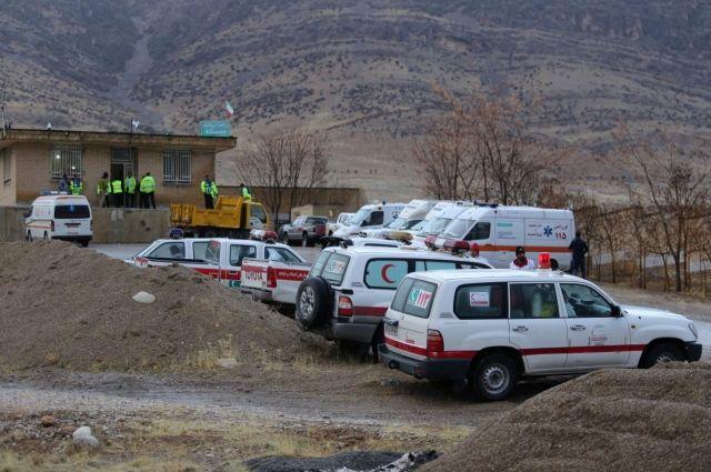Россия предоставила Ирану координаты места крушения самолета ATR-72