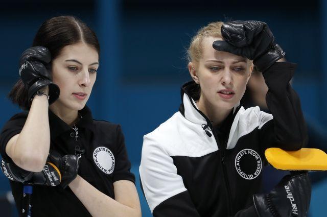Российские керлингистки проиграли Швейцарии в матче кругового раунда ОИ