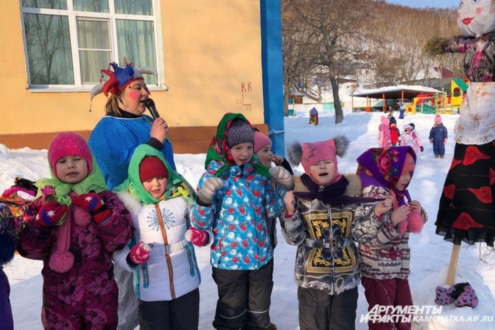 Побывал корреспондент «АиФ-Камчатка» и на масленичных гуляниях в петропавловском детском саду № 35.