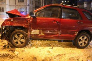 Аварию спровоцировал водитель на «Lexus RX330»