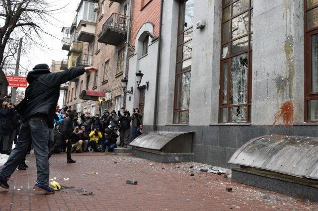 Лидер ОУН пообещал продолжить громить российские объекты в Киеве