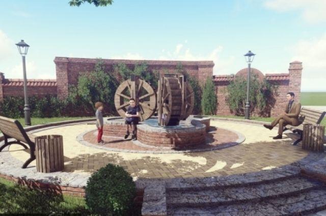 В Зеленоградске появится «Колесо времени».