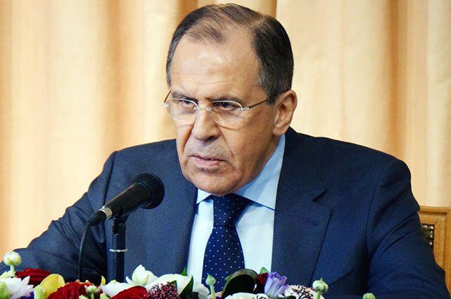 Лавров призвал США не играть с огнем в Сирии