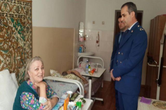 Махачкалинский дом престарелых авито средства по уходу за лежачими больными