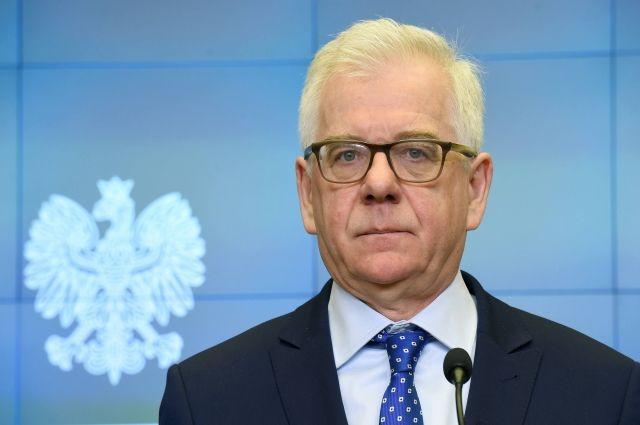 Глава МИД Польши считает необходимым внести поправки в закон о Холокосте