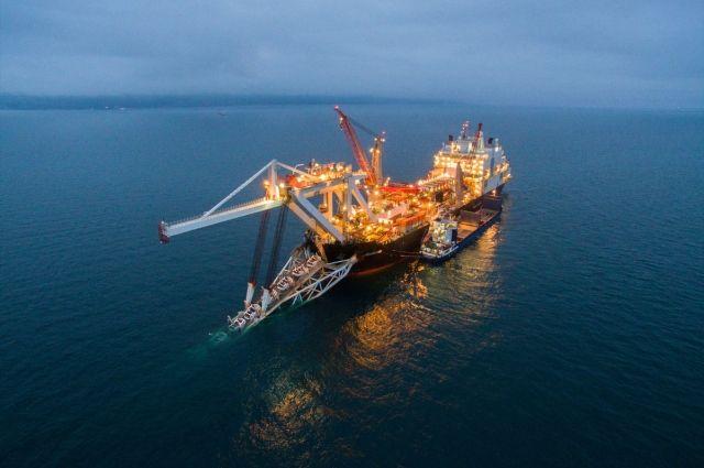 Морской участок «Турецкого потока завершен» на 48%