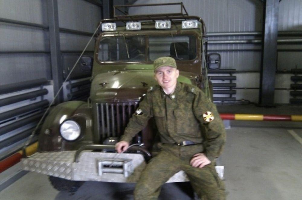 Андрей Кирюшин, «2012 год: перед получением медали «За заслуги перед Отечеством»