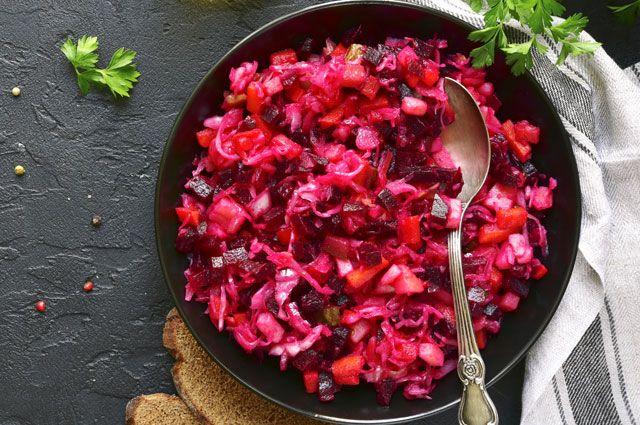 Рецепт винегрета традиционный