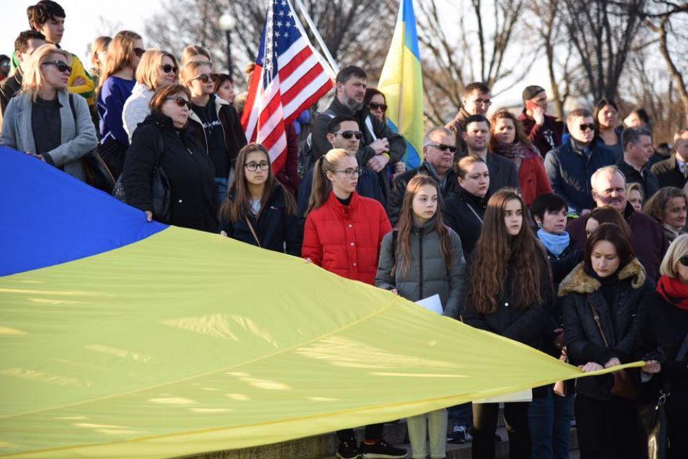 Мероприятие официально открыл посол Украины в США Валерий Чалый.
