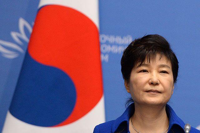 Экс-президент Южной Кореи Пак Кын Хе.
