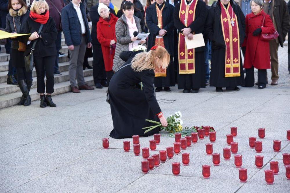 Украинская диаспора: в Вашингтоне почтили память героев Небесной сотни.