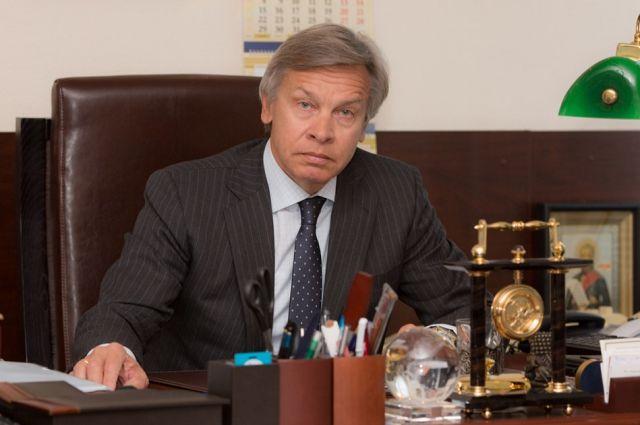 Пушков прокомментировал запрет Украины на поставку двигателей для Ан-148