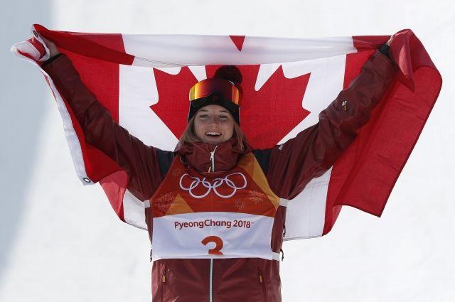 Золото ОИ-2018 в хафпайпе завоевала спортсменка из Канады