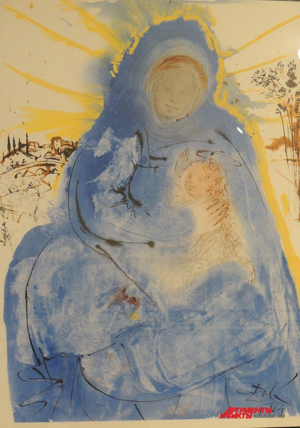 «Мария размышляет в сердце своём». Из серии «Библия».