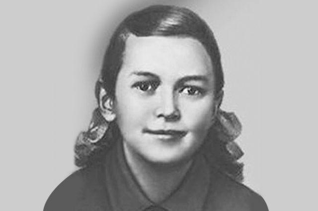 Пионерка Зина Портнова выдержала зверские пытки фашистов, но не сдала товарищей.
