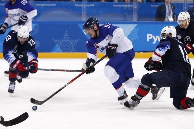 Сборная США обыграла команду Словакии на Олимпиаде в Пхенчхане