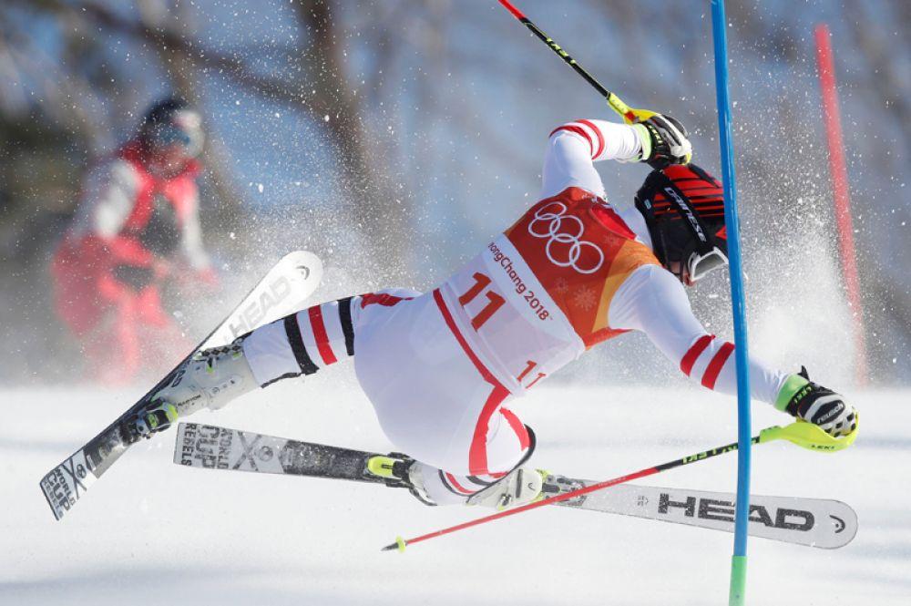 Маттиас Майер (Австрия) — горные лыжи, комбинация.