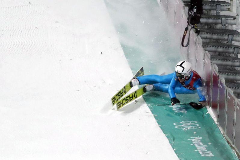 Давиде Бресадола (Италия) — прыжки с трамплина.