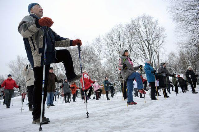 Скандинавская ходьба обретает в Москве вторую родину.