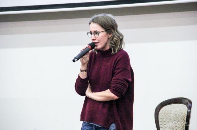 Собчак заявила о формировании костяка своего политического движения