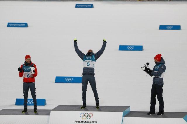 Немцы заняли весь олимпийский пьедестал почета влыжном двоеборье