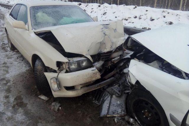 Авария на 1 км автодороги «Нижневартовск – Излучинск»