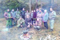 Коллектив Калачинского лесхоза на рабочем посту.
