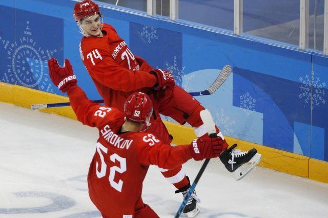 Определен состав команды РФ по хоккею на четвертьфинал с Норвегией на ОИ