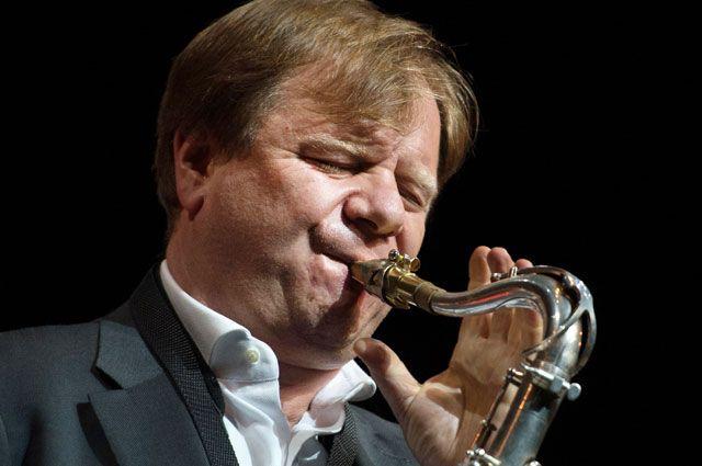 Музыкант, саксофонист Игорь Бутман.