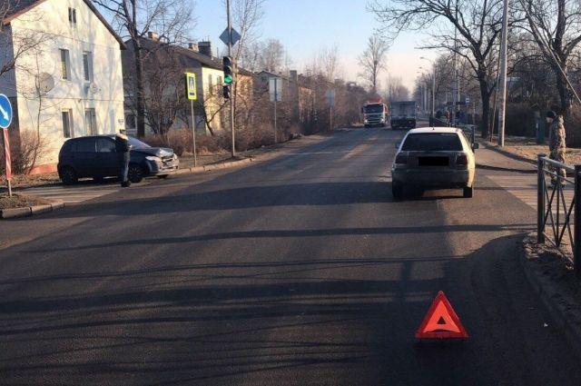 Два девятилетних ребенка пострадали в ДТП в Калининграде.