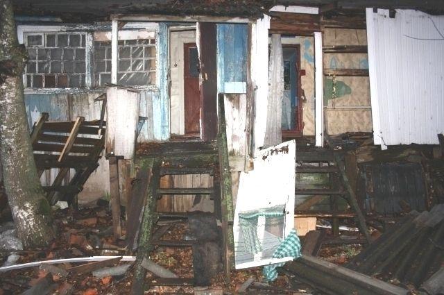 Демонтаж аварийных домов завершат до 10 марта.
