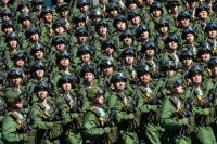 Военнослужащие Воздушно-десантных войск РФ.